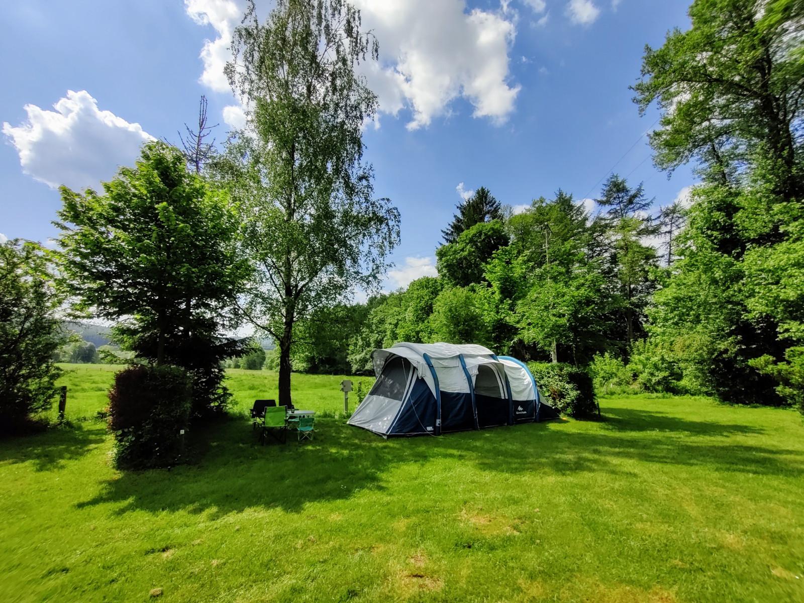 Zeltplatz für Zelte
